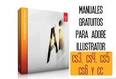 Pack de manuales gratuitos y en español de Adobe Illustrator. Versiones CS3, CS4, CS5, CS6 y CC.
