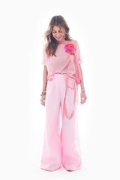 Crew Spring/Summer 2017 at New York Fashion Week Pink Fashion, Fashion Week, Fashion 2017, New York Fashion, Runway Fashion, Fashion Show, Fashion Tips, Mode Rose, Fashion Plates