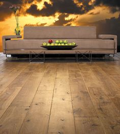 Bois Chamois Vintage Hardwood flooring offers high-quality, distressed and antiqued European white oak flooring with a distinctive old world charm. Wood Flooring Options, Wooden Flooring, Hardwood Floors, Contemporary Decorative Pillows, Contemporary Furniture, Distressed Wood Floors, Wood Floor Installation, White Oak Floors, Decor Styles
