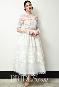 45 of the best long-sleeved wedding dresses from Bridal Fashion Week - Image 6