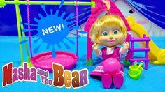 Masha and The Bear 2016 New Toy Videos Review Masha i Medved 2016 Игрушк...