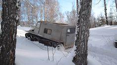 Вездеход по снегу в гору-35% (тест-драйв)