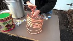 Make Your Own Immersion Wort Chiller in 15 Minutes How To Make Beer, Make Your Own, Homemade Beer, Home Brewing Beer, Beverages, Drinks, Desserts, Homebrewing, Food