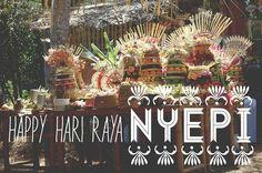 Happy Hari Raya Nyepi - image tweeted by @greenschoolbali