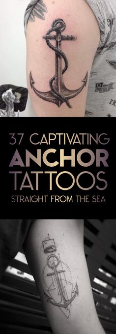 37 Captivating Anchor Tattoo Designs | TattooBlend