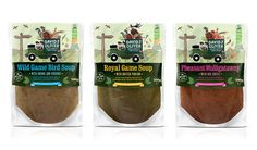 David & Oliver clever odd soups #packaging Look closely : ) PD