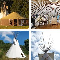 Jaia - High quality tipis (teepees) and yurts manufactured in New Zealand