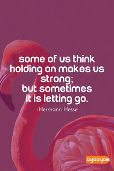 Sometimes, letting go makes us stronger. #inspiration #motivationalquotes #positivequotes #entrepreneurquotes #ayooyoo