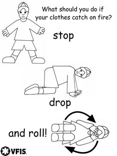 fire safety printables coloring pages - Fire Safety Coloring Pages