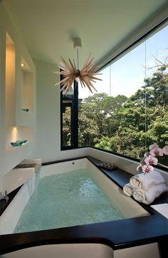 Spa Tub, Bathroom Spa, Bathroom Interior, Interior Design Living Room, Bathroom Ideas, Bathroom Organization, Bathroom Layout, Bath Tub, Bathroom Designs