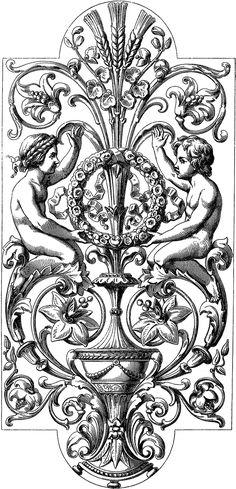 Royalty Free Images – Gorgeous Ornate Illustration