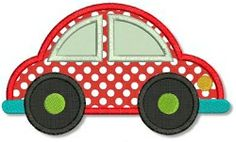 Car Applique - 3 Sizes! | Cars | Machine Embroidery Designs | SWAKembroidery.com Lynnie Pinnie