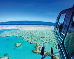 Helicopter Tour Of The Great Barrier Reef - One & Only Hayman Island, Australia