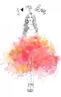 06 Beautiful Fashion Illustrations