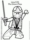 golden ninja coloring pages - photo#19