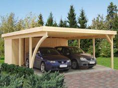 Навес для автомобиля своими руками - из поликарбоната, дерева, профнастила