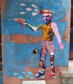 """Rabotnik"", Istanbul 2011 http://www.openwallsgallery.com/artist/various-gould"
