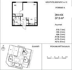 Vuokrataan kerrostalo Kaksio - Helsinki Tapulikaupunki Käsityöläisentie 4-10