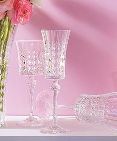 Lady diamond glassware collection by cristal d arques for Arc decoration arques