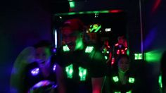 Zone laser tag Players entering into the arena with lots of joy & thrill.