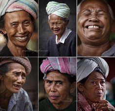 Women of Bali - the beauty is in the laughter, the experience, the strength, the joy, the contemplation, the animation of a face. The rest is just pretty.
