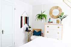 Bedroom Sitting Area Makeover