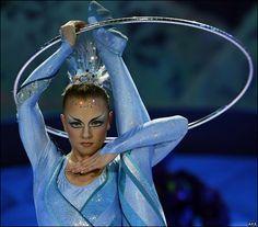 GoddessLife Favorite Dance Video Thursdays - Elena Lev Hula Hoop dance in Cirque du soleil | GoddessLife