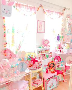 Kawaii Toy Room! Pastel From The 80s and 90s! www.CuteVintageToys.com Hundreds Of Kawaii Vintage Toys From The 80s & 90s! Follow Me & Use The Coupon Code PINTEREST For 10% Off Your ENTIRE Order! Dozens of G1 My Little Ponies, Polly Pockets, Popples, Strawberry Shortcake, Care Bears, Rainbow Brite, Moondreamers, Keypers, Disney, Fisher Price, MOTU, She-Ra Cabbage Patch Kids, Dolls, Blues Clues, Barney, Teletubbies, ET, Barbie, Sanrio, Muppets, & Fairy Kei Cuteness!