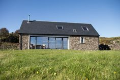 - Kilninian, Isle of Mull Cottage Extension, Self Catering Cottages, Irish Cottage, Modern Bungalow, Modern Barn, Small House Design, Open Plan Living, Deco, Ideal Home
