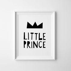 baby boy nursery scandinavian print little prince boys nursery art printable wall art kids decor boys playroom sign baby boy gift - Printable Boy