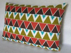 Decorative Pillow Cover in Zig Zag Modern by PillowLoftHomeDecor, $24.99
