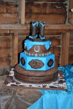 Western Cakes | Western Cowgirl Birthday Cake - by Jenny Kennedy @ CakesDecor.com ...