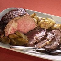 roasted beef with caramelized shallots recipe roasted beef with ...