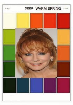 Color Type, Find Color, Eye Color, Bright Spring, Warm Spring, Spring Colors, Colour Therapy, Seasonal Color Analysis, Reba Mcentire