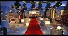 oh so adorable Airstream village.for grown-ups! Airstream Land Yacht, Airstream Living, Airstream Camping, Glamping, Camping Desserts, Christmas Village Sets, Christmas Villages, Kayak Camping, Camping Set