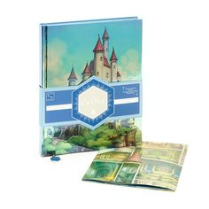 Wishes come true with this limited release journal featuring the wicked Queen's castle from Walt Disney's Snow White and the Seven Dwarfs. Detail your heart's desires on the lined pages divided into sections by fully illustrated spreads. Pull-out poster, silver edging and a glittering bookmark charm add that special touch of magic.