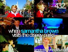 oh i watch these everytime. love samantha brown and i love disney