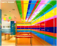 Dylan's Candy Bar--Party Room