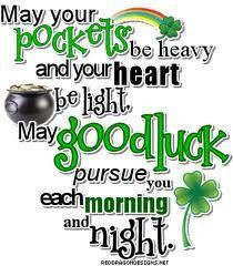 I love Irish Blessings