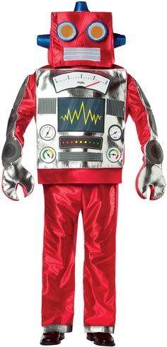 toddler robot costume fasching kost m und roboter. Black Bedroom Furniture Sets. Home Design Ideas
