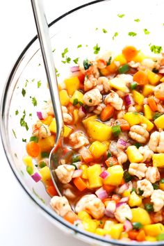 This Easy Shrimp Ceviche recipe isquick and easy to prep, tossed with a zestychili-lime sauce, and perfect servedwith chips or piled on tostadas or whatever sounds good! Heyyyyy, we're finally home from our honeymoon! You know,marriedand all.  Oh man, I don't even know whereto begin catching up with you after my time away. This …