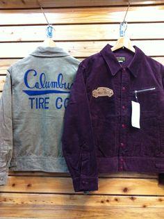 pherrow'sからコーデュロイ(Gジャンスタイル)ジャケットが入荷しました。ワッペン&刺繍も雰囲気いいですね!価格¥25,200-