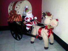 Tablero de Navidad de Maria Quilted Christmas Ornaments, Christmas Deer, Simple Christmas, All Things Christmas, Vintage Christmas, Christmas Wreaths, Christmas Crafts, Christmas Decorations, Xmas