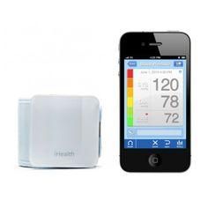 iHealth Wireless Blood Pressure Wrist Monitor - Bezprzewodowy ciśnieniomierz nadgarstkowy współpracujący z systemami iOS/Android dostarczy informację o twoim ciśnieniu wprost na ekran twojego smartfona lub tabletu. Specjalnie przygotowany program iHealth MyVitals app pozwoli ci spersonalizować ustawienia zależnie od własnych preferencji.
