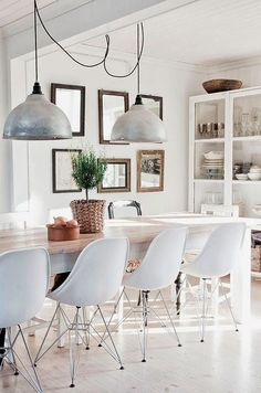 Reflections and mirrors, strategies for a beautiful home...