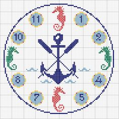 Cross Stitch Sea, Baby Cross Stitch Patterns, Cross Stitch Flowers, Cross Stitch Charts, Cross Stitch Designs, Learn Embroidery, Embroidery Hoop Art, Needlepoint Designs, Tapestry Crochet