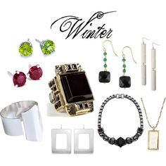 Type 4 Winter Jewelry ~ expressing your truth closet Clear Winter, Dark Winter, Deep Winter Colors, Dyt Type 4 Clothes, Winter Typ, Dramatic Classic, Cool Undertones, Wardrobe Basics, Winter Accessories