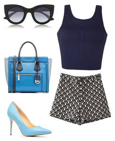 """SUMMER COMBO"" by fashionconnery ❤ liked on Polyvore"