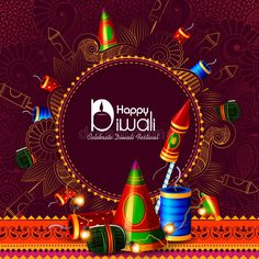 Illustration about Easy to edit vector illustration of firecracker for Happy Diwali holiday background. Illustration of happiness, glowing, creative - 129036109 Diwali Pictures, Happy Diwali Images, Diwali Greetings, Diwali Wishes, Hindu Festivals, Diwali Festival, Diwali Decorations, Firecracker, Special Day