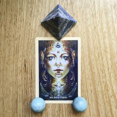 Card of the Day - 31 January: Big Bold Vision | Sacred Rebels Oracle by @alanafairchild - You are about to receive or be invited to become part of, a grand visionary beginning. It has the makings of something fantastic. #vision #lapislazuli. Read more on the blog!